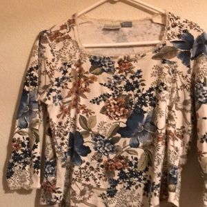 Tops - Lady's white stage blouse